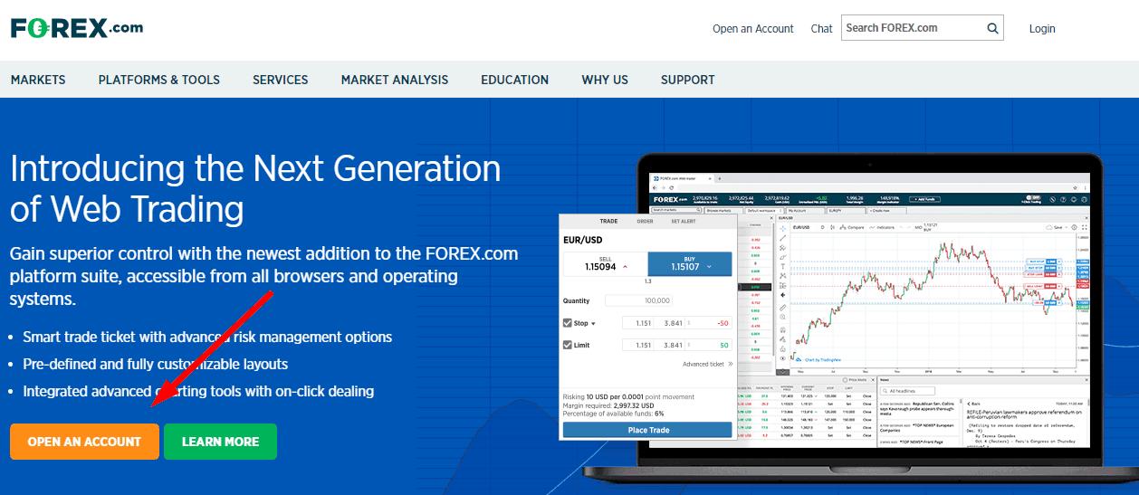 forex.com registration