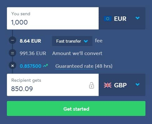 transferwise exchange