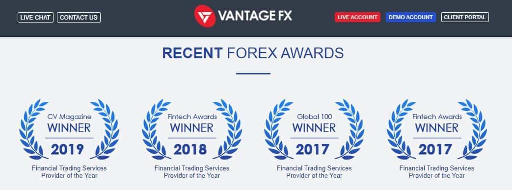 vanatge fx award