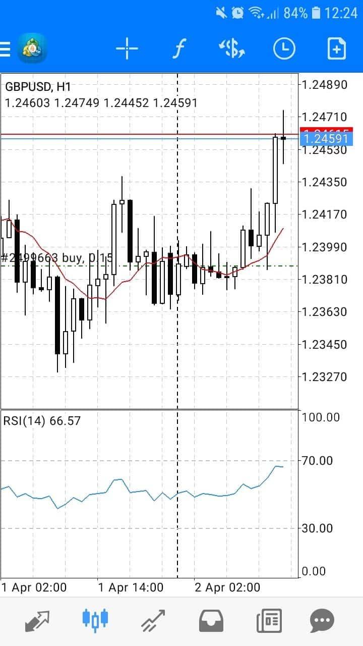 xm trading app