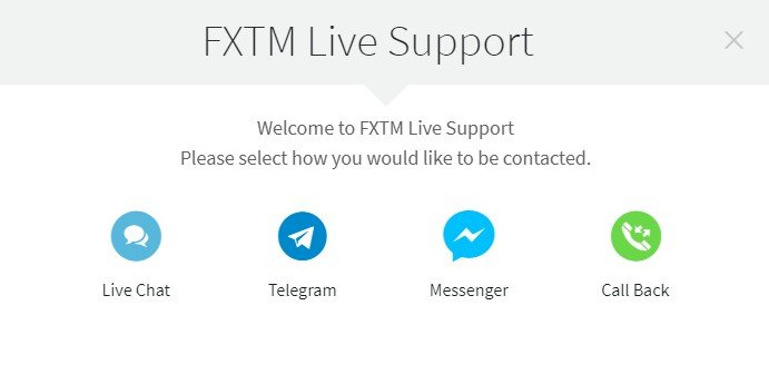 fxtm support