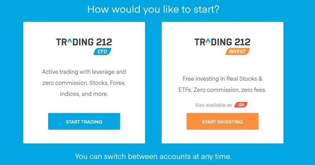 trading 212 accounts