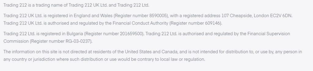 plus500 vs trading 212 regulation